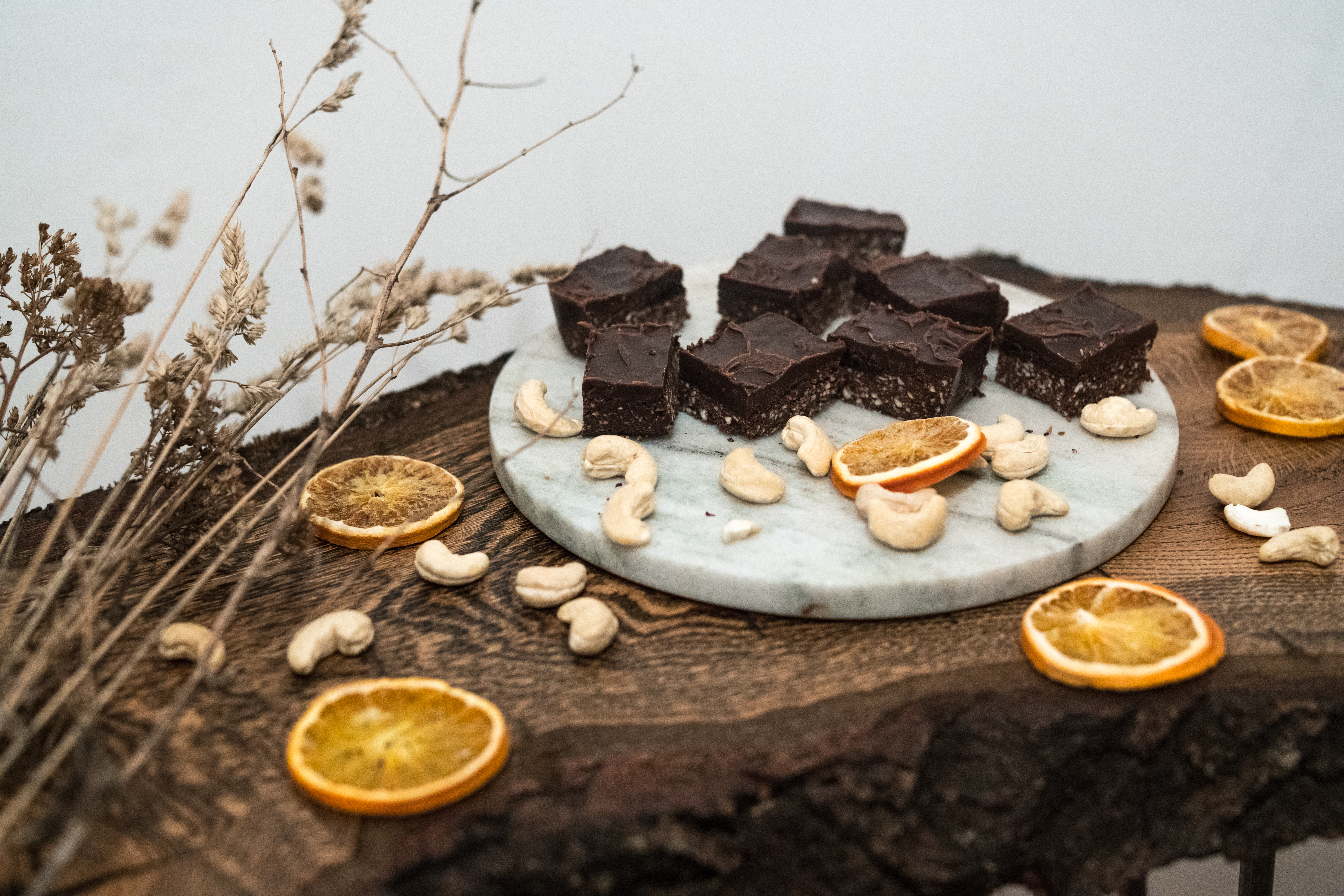 Roh-Vegane Brownies // Raw vegan brownies